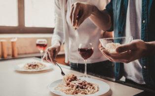 Saiba como combinar vinhos e massas