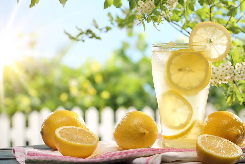 Drinks com vinho: Limonada