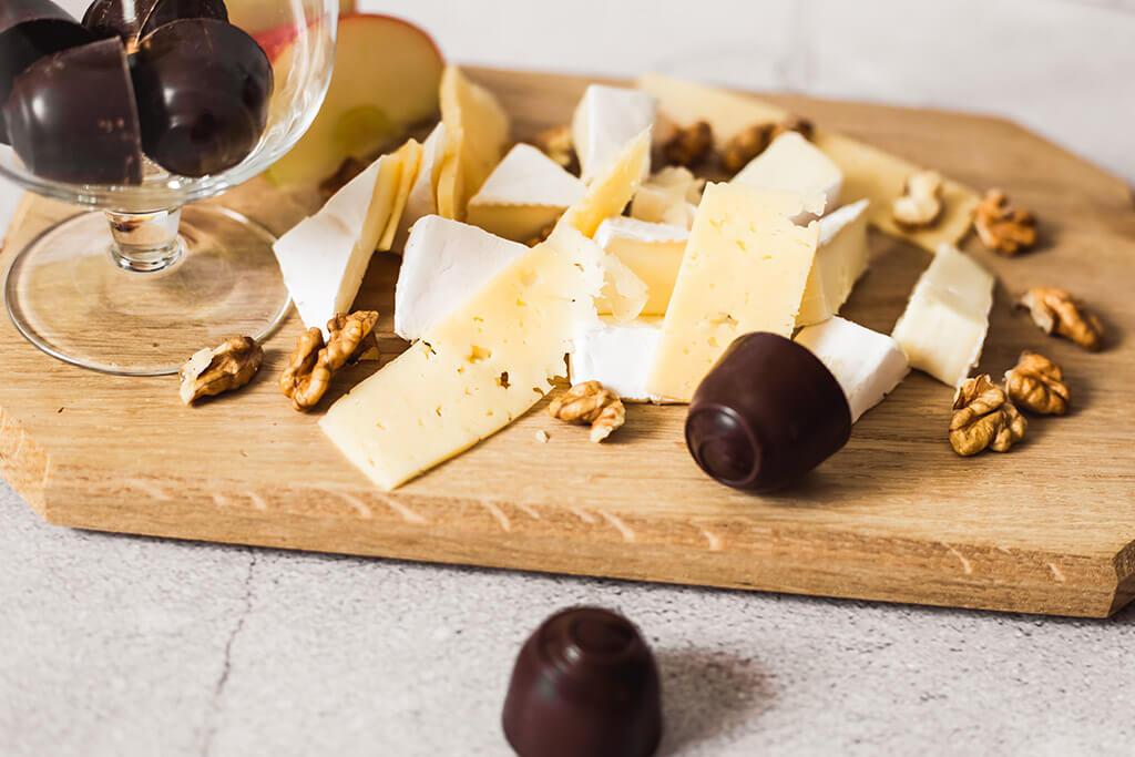 Vinho do porto: Queijos e chocolates